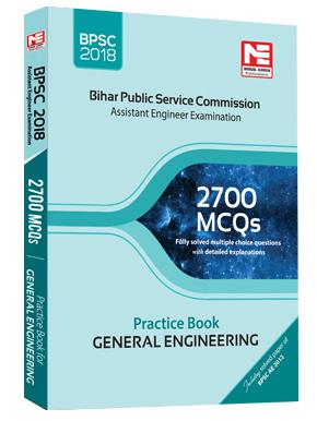 BPSC(AE) : 2700 MCQs Prac  Book Gen Engineering