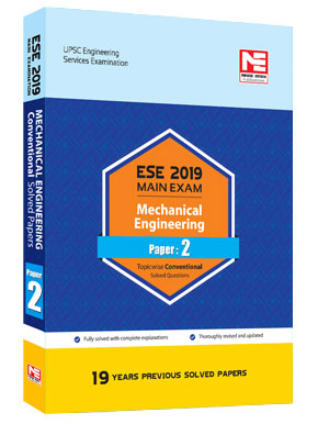 ESE 2019-Mains : ME Conv. Solved Papers - Paper II