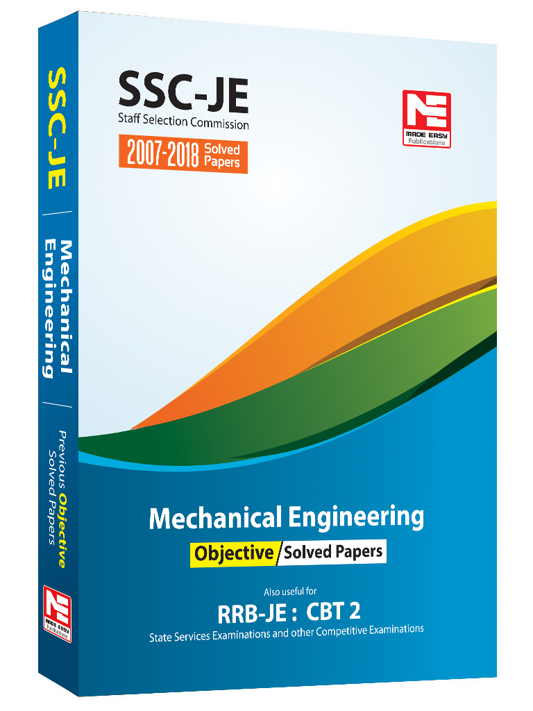 SSC: Mechanical Engineering Objective Solved Paper