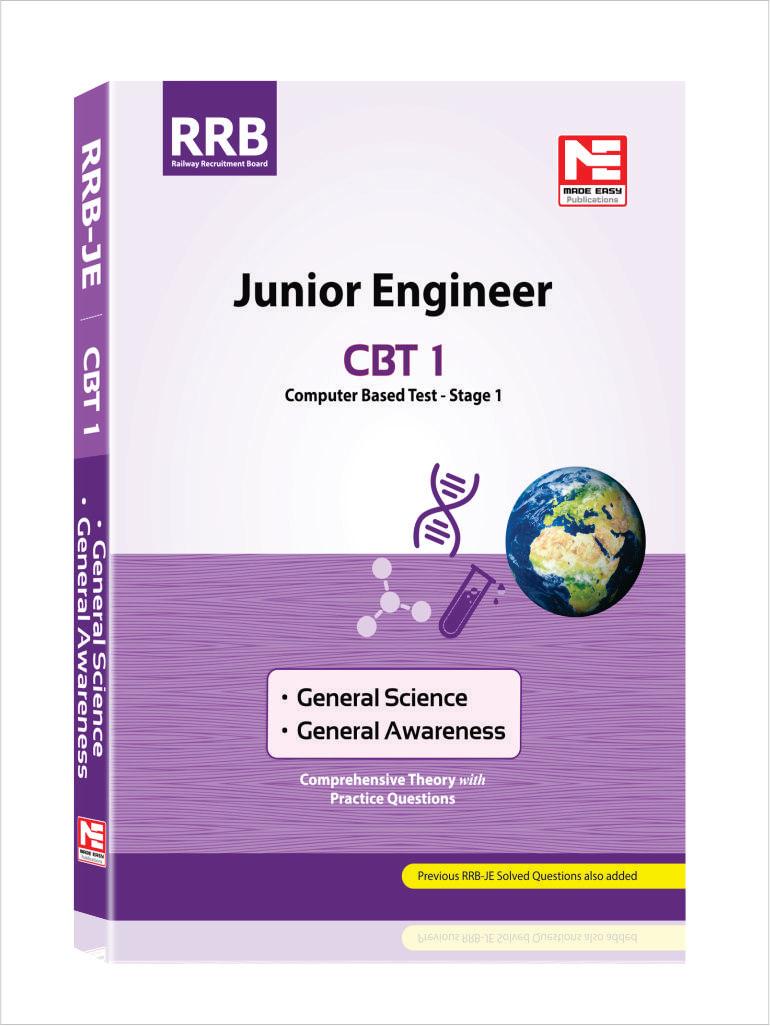 RRB JE CBT- 1 : General Awareness, General Science