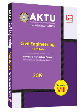 AKTU 8th Sem (CE 2019)- Previous 5 Yr Solved Paper