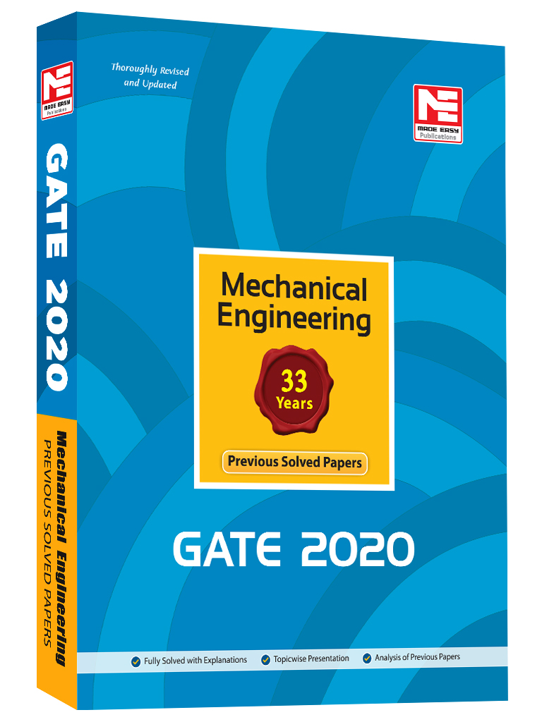GATE-2020: Mechanical Engg  Prev  Yr Solved Papers