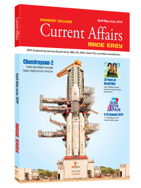 Current Affairs Quarterly Issue: April - June 2019