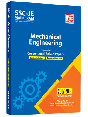 SSC: JE ME Engg. - Prev. Yr Conv. Solved Papers