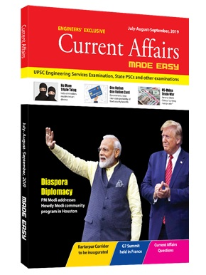 Current Affairs Quarterly Issue: July - Sept 2019