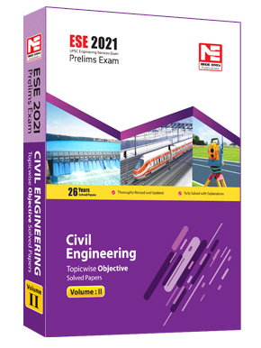 ESE 2021: Preliminary Exam: Civil Engg. Obj Vol-2