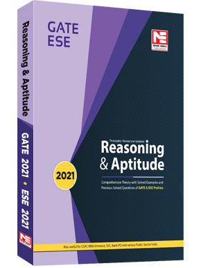 Reasoning and Aptitude for GATE and ESE- 2021