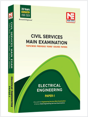 CSE Mains 2021: Electrical Engg. Sol. Papers-Vol-1