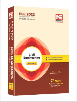 ESE 2022: Preliminary Exam: Civil Engg. Obj Vol-1
