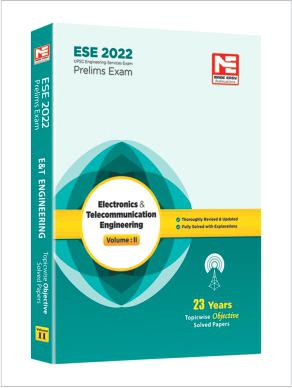 ESE 2022: Preliminary Exam: E&T Engg Obj Vol-2