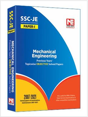 SSC-JE 2021: ME Engg. Prev. Yr. Obj. Solved Paper