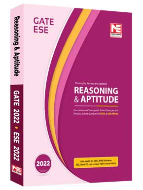 Reasoning and Aptitude for GATE and ESE- 2022